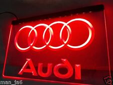 Audi Car Logo LED Neon sign night Light Home Man Cave decor Best Garage Gift