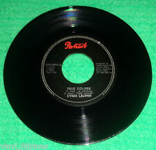 "PHILIPPINES:CYNDI LAUPER - True Colors,What A Thrill,7"" 45 RPM,RARE"