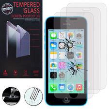 3 Films Verre Trempe Protecteur Protection Au Choix pour Apple iPhone 5C