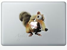 Ice Age Squat Squirrel Decal Sticker Skin for Macbook Pro Air 11 13 15 17 in IA