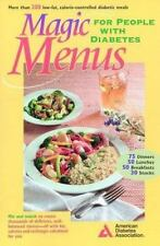 Magic Menus For People With Diabetes, Paperback