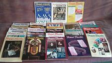 SHEET MUSIC MAGAZINES - Vintage Lot, 25 Issues, From 1988-1994