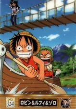 One Piece Trading Card King of Pirates Gummy Card 3 324 Robin Luffy Zoro