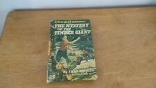 Tom Quest Adventure Mystery of the Timber Giant Fran Striker 1955 HC Book VG+