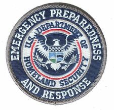 "D35EPRcolorV VELCRO Homeland Security Emergency Preparedness Response 3.5"" patch"