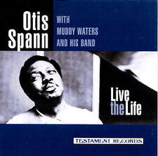 Live the Life by Otis Spann SEALED (CD 1997, Testament Records)