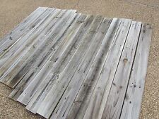 """68"""" Weathered Barn Wood 15 Fence Boards Planks  Reclaimed Old Fence Wood Boards"""