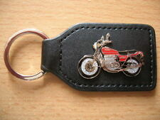 Schlüsselanhänger Kawasaki Z 650 / Z650 rot red Motorrad Art 0700 Motorbike Moto