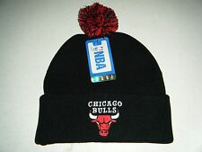 Chicago Bulls Authentic Cuffed With Pom beanie / toque  Knit hat New with tags