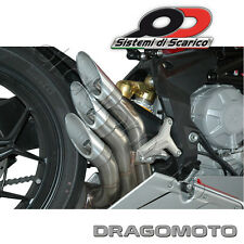 SCARICO QD POWER GUN MV AGUSTA F3 675 2011 2012 2013 AUSPUFF EXHAUST SILENCIEUX