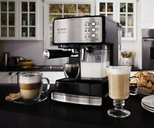 Mr. Coffee Cafe Barista Espresso Maker with Automatic Milk Frother BVMC-ECMP100