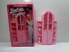 Vintage BARBIE Doll SWEET ROSES WALL 3 PC UNIT WITH ACCESSORIES and box