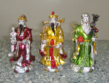 Feng Shui = Bejeweled Fuk Luk Sau Three Star Deities