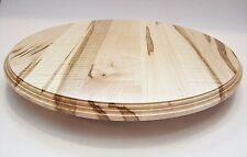 "NEW 18""  Amish Handcrafted Solid Wormy  Maple Maple Wood lazy susan turn table"
