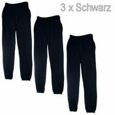 3 x Set Fruit of the Loom Herren Trainingshose Jogginghose Sport Fitness Hose