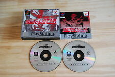 METAL GEAR SOLID pour PlayStation 1