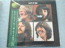 THE BEATLES LET IT BE TOJP-60143,  VINYL LP JAPAN WITH OBI