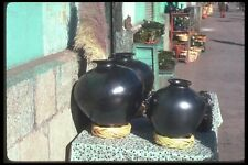 090054 Black Pottery Oaxaca Mexico A4 Photo Print