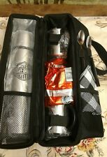 HARLEY DAVIDSON ROAST N ROLL THERMOS SET- Never Used.