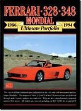 Ferrari 328 348 Mondial 1986-1994 Ultimate Portfolio Brooklands Books Road Test.