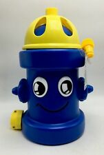 Fire Hydrant Garden Hose Sprinkler Splash Sprays Water Outdoor Summer Blue New