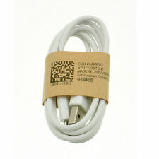 Original USB Cable Cord Line Data Charger for Samsung Galaxy S3 S4 White 1pc