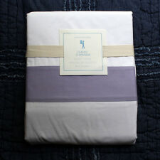 New POTTERY BARN KIDS Classic Duvet Cover twin lavender