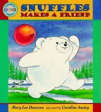 Snuffles Makes a Friend (Gund Children's Library)-ExLibrary