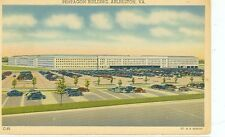 ARLINGTON VIRGINIA PENTAGON BUILDING LINEN ERA (JL5-704)