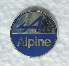 ALPINE RENAULT ENAMEL LAPEL PIN BADGE. 24mm. DIAMETER