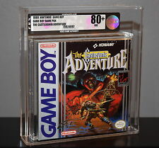 CASTLEVANIA ADVENTURE - VGA 80+ NINTENDO GAME BOY ~ FACTORY SEALED NEW KONAMI