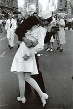 Kissing on VJ Day Collections Poster Print, 24x36