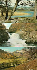 Cumbria ,Lake district x3 Elterwater ,Langdale valley  unposted 1960's/70's