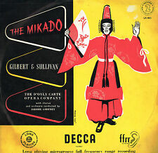 Gilbert & Sullivan THE MIKADO D'Oyly Carte ISIDORE GODFREY LP 2 DECCA UK LK 4011