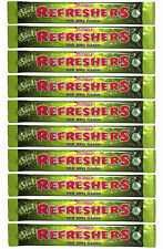 10 x Swizzels Refreshers Sour Apple Flavour Chew Bars - Free Shipping in UK
