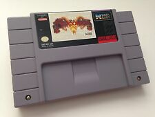 Super Nintendo SNES Shadowrun Video Game Cartridge *Near Mint*