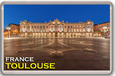 TOULOUSE FRANCE FRIDGE MAGNET SOUVENIR IMAN NEVERA