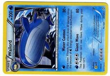 POKEMON BW6 BLACK & WHITE DRAGONS EXALTED HOLO N°  26/124 WAILORD 200 HP