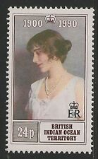 British Indian Ocean Territory #106 VF MNH - 1990 Queen Mother 90th Birthday