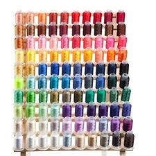 Large Set of 100 Spools Embroidery Machine Thread