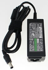 SONY VAIO VGP-AC19V10 CHARGER ADAPTER POWER SUPPLY 40W 19.5V 2.15A