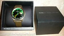 "Marc Jacobs Ladies ""The Slim Watch"" in Black and Green, MBM1320, Retail $290"