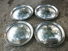 1949 1950 DODGE WHEELCOVERS HUBCAPS SET OF 4 RAT ROD HOT ROD