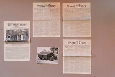 Lot d'archives autour de l'imprimerie mobile du Times, 1951-1953