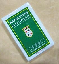 CARTE DA GIOCO NAPOLETANE PLASTIFICATE  cod.11245