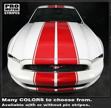 Ford Mustang Pre-cut Over-The-Top Double Rally Stripe Kit 2013 2014 Pro '13 '14