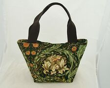 HANDMADE TOTE HANDBAG FROM LIBERTY OF LONDON  AFRICAN MARIGOLD PATTERN FABRIC