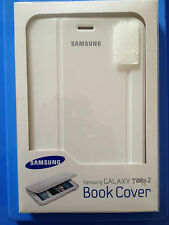 BRAND NEW Samsung Galaxy Tab 2 7.0 Book Cover White EFC-1G5SWECSTD