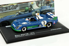 Matra MS670B #7 Winner 24h LeMans 1974 1:43 Ixo Altaya