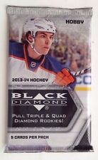 2013-14 Upper Deck Black Diamond Hockey HOBBY Box BONUS Pack 5 UD Ice Cards